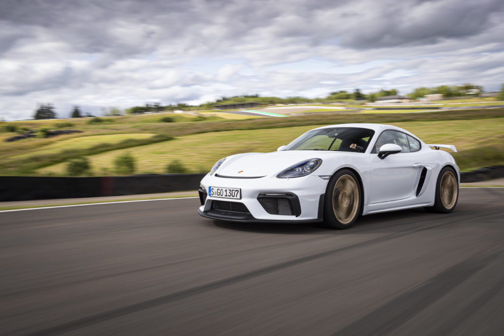 Porsche Cayman GT4 i Boxer Spyder otrzymają skrzynię PDK