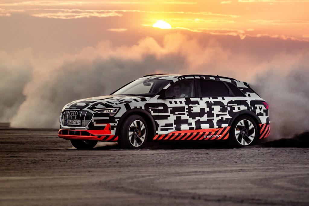 Audi wstrzymuje na kilka dni produkcję modelu e-tron przez brak baterii