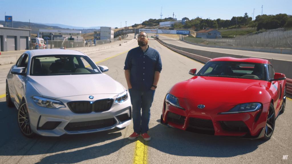 BMW M2 vs Toyota GR Supra – które auto okaże się szybsze?