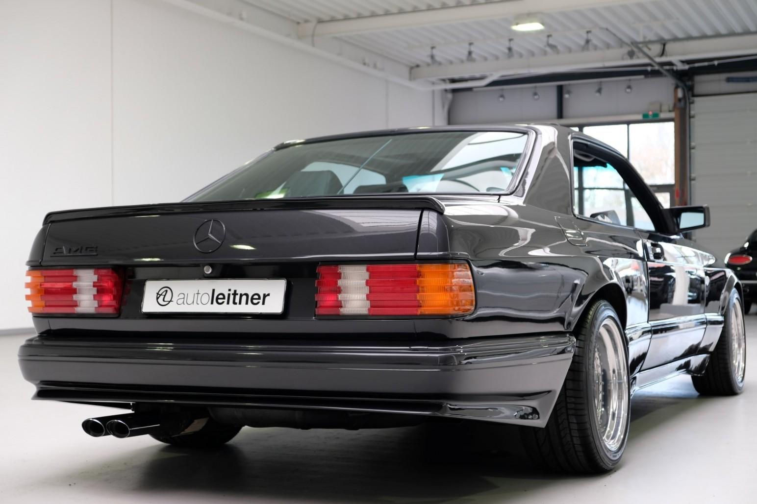 Mercedes 560 SEC AMG 6.0 Widebody