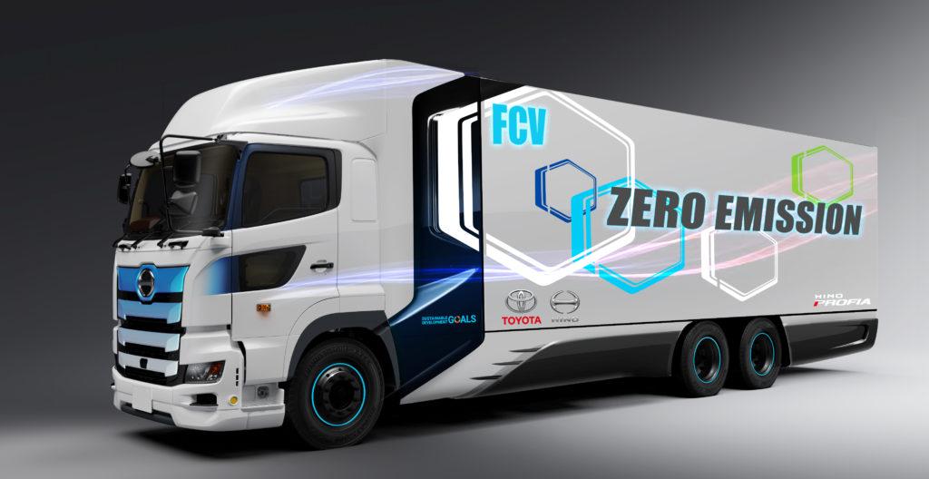 Toyota opracuje wodorową ciężarówkę we współpracy z Hino Motors