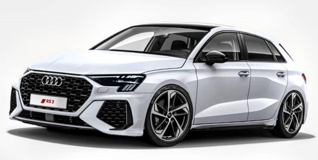 Audi RS3 Sportback 2021 – tak może wyglądać pogromca AMG A45s