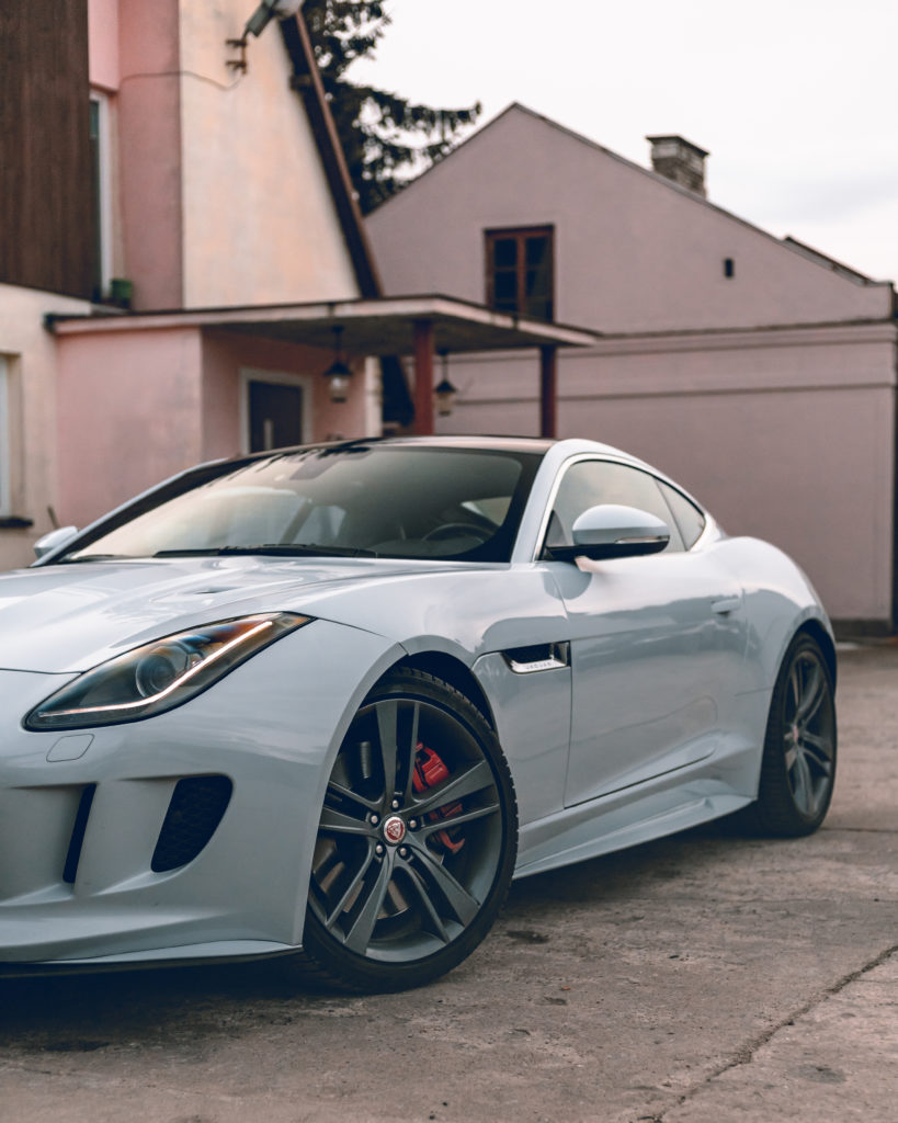 Jaguar F-Type S – niepozorny i szerzej znany jako Jag Frost Project