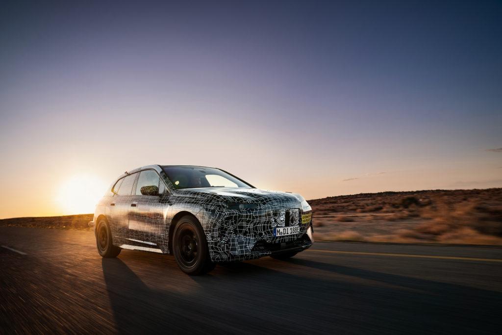 BMW iNEXT – testowany w trudnych warunkach