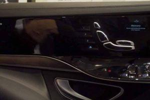 W nowym Mercedesie klasy S będzie jeszcze więcej ekranów dotykowych