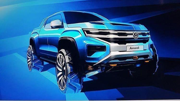 Volkswagen Amarok 2022 – pierwszy zwiastun współpracy z Fordem