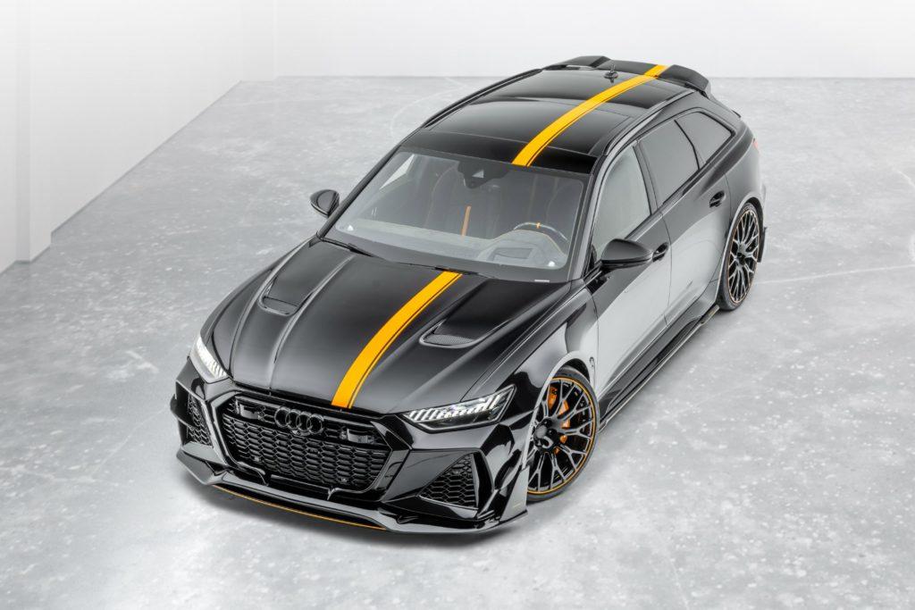 Audi RS6 z pakietem modyfikacji Mansory o mocy 720 KM