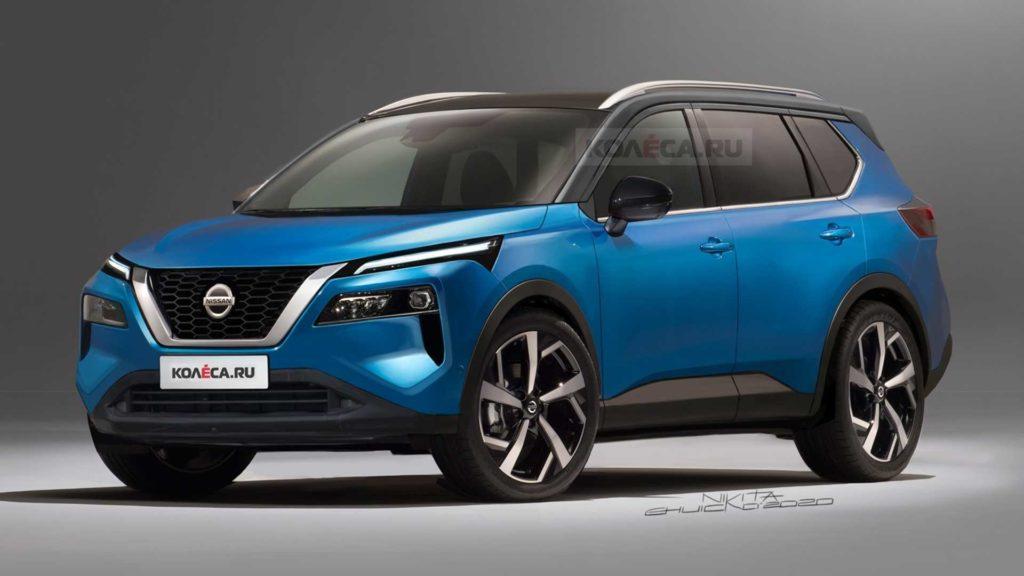 Nowy Nissan X-Trail zaprezentowany na nieoficjalnych renderach