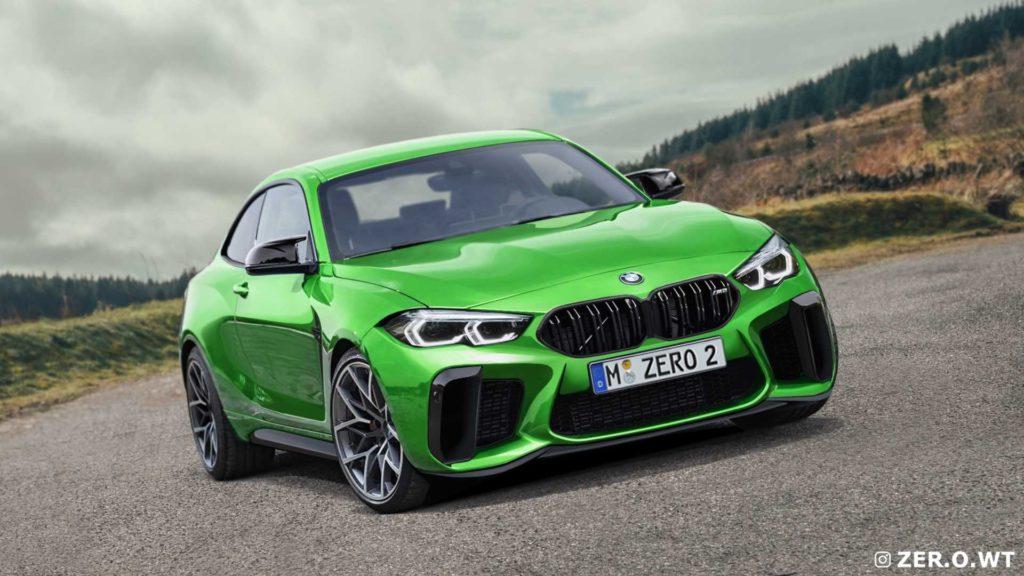 Nowe BMW M2 (G87) na pierwszych renderach wygląda oszałamiająco