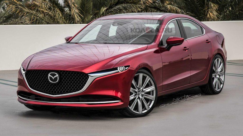 Nowa Mazda 6 na 2023 rok otrzyma napęd na tylną oś (RWD) w standardzie
