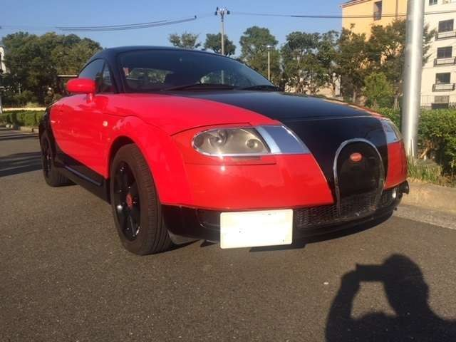 BugAudi, czyli jak z Audi TT zrobić Bugatti Veyron tanim kosztem