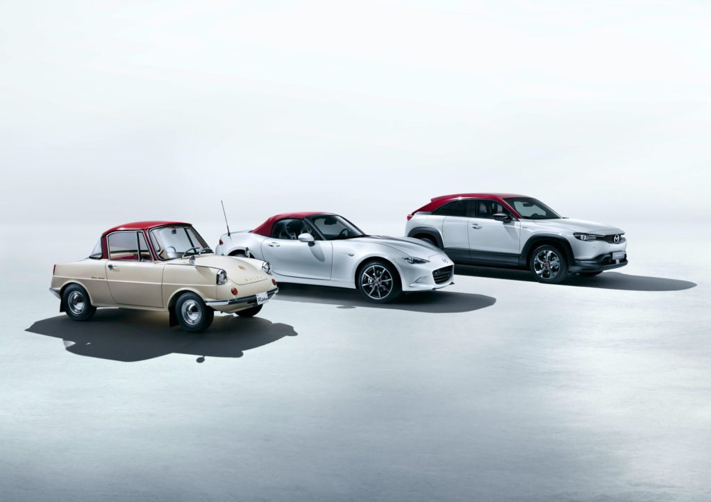 Mazda świętuje swoje 100. urodziny edycją specjalną dla wszystkich aut