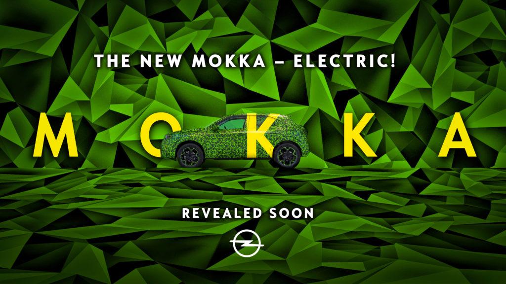 """Nowy Opel Mokka – elektryczny oraz w końcu bez """"X"""" w nazwie"""