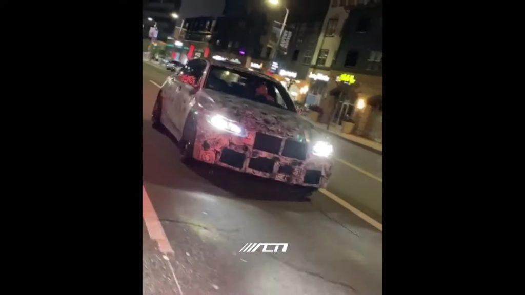 BMW M3 2021 kolejny raz przyłapane w Kalifornii na testach drogowych