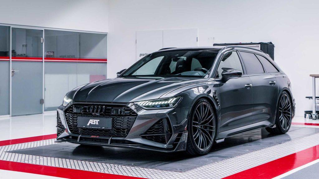 Audi RS6-R – kombi o mocy 730 KM, aby szybko pojechać na wakacje
