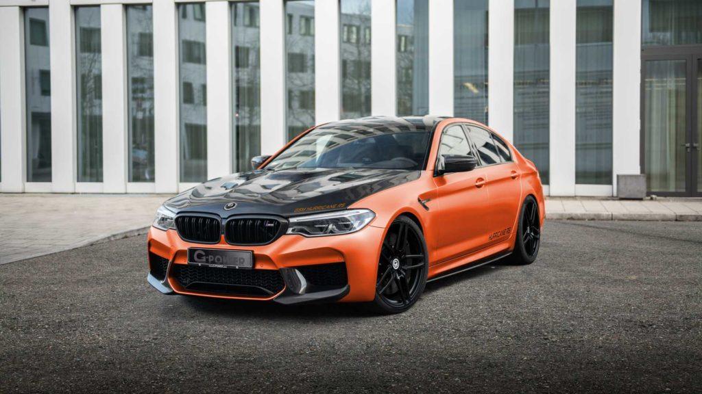 BMW M5 od G-Power ma 830 KM i 1000 Nm, a setkę robi w 2,5 sekundy