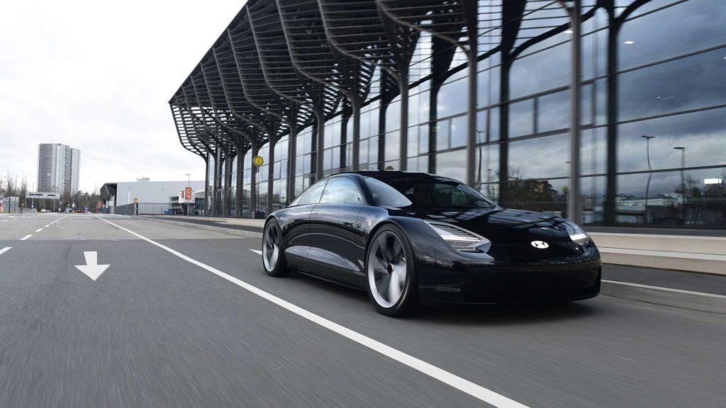 Hyundai Prophecy Concept – elektryk a'la Porsche Taycan z Korei?