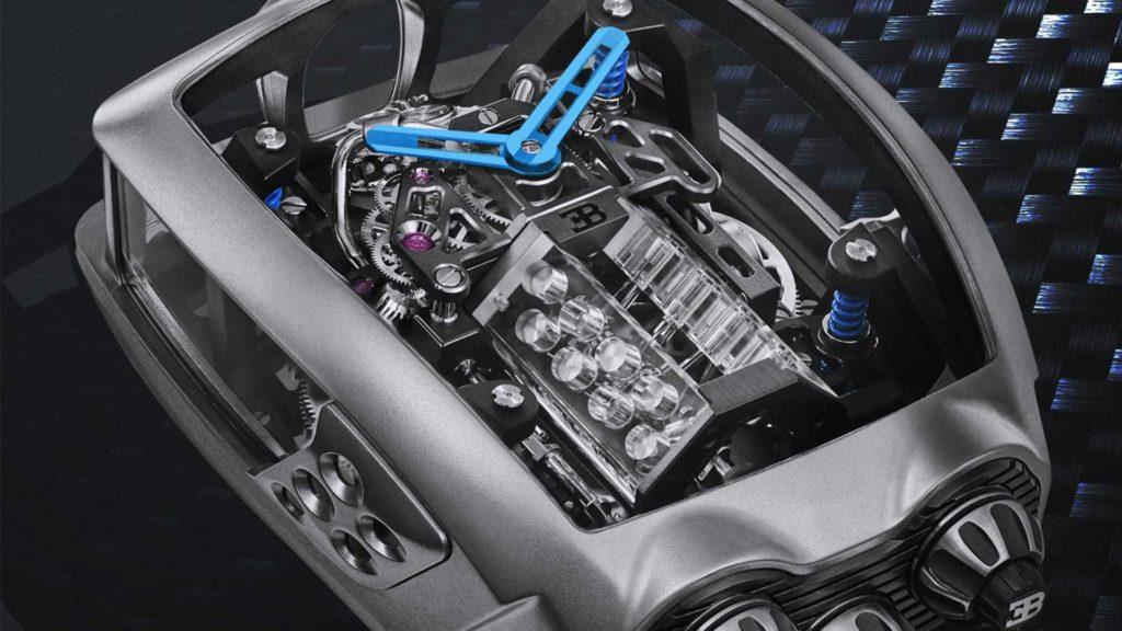 Zegarek Bugatti za 280 000 dolarów ma swój własny silnik W16
