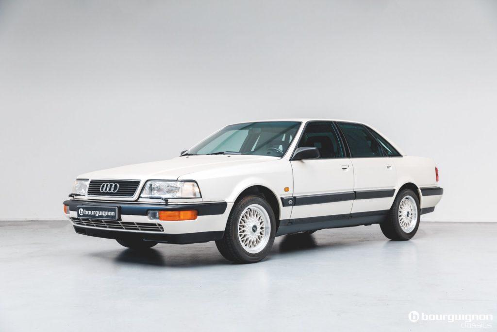 Audi V8 – choć ma 30 lat to kosztuje prawie tyle samo co nowe A8