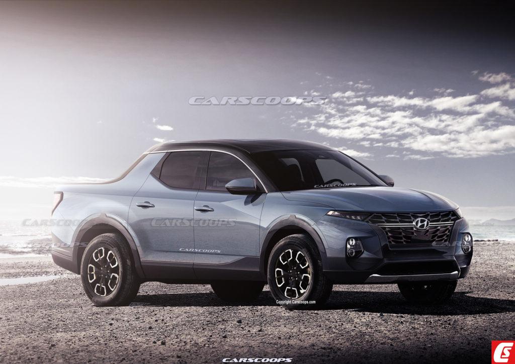 Hyundai Santa Cruz (pick up) zadebiutuje jeszcze w tym roku