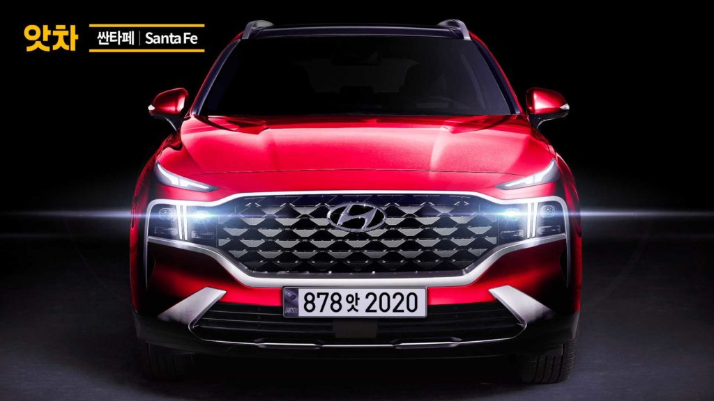 Tak będzie wyglądać nowy Hyundai Santa Fe po faceliftingu