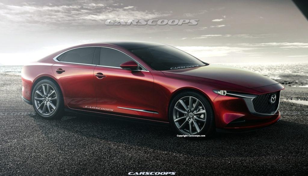 Mazda 6 na rok 2023 dostanie napęd RWD – czy stanie się rywalem BMW?