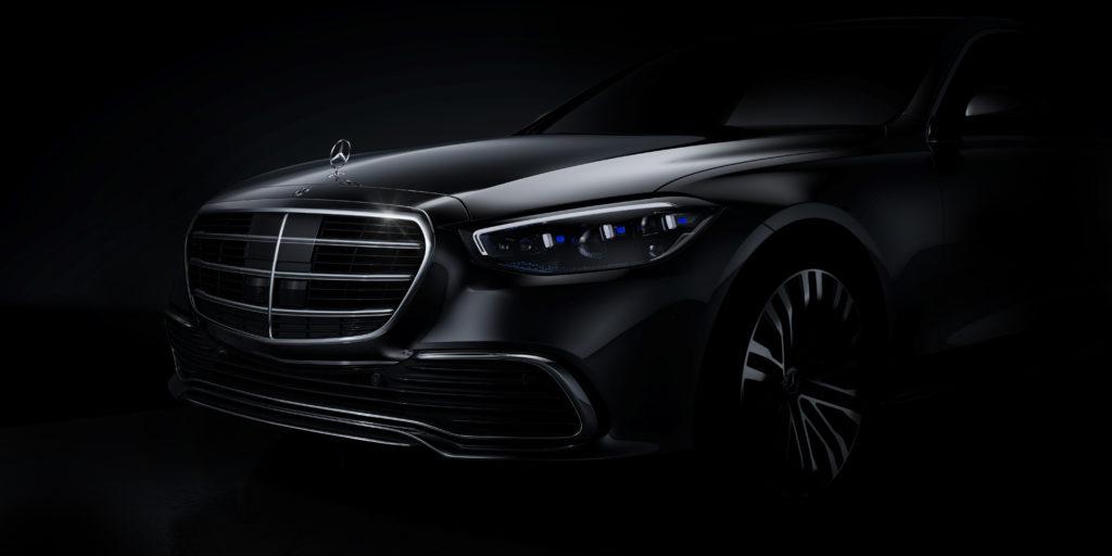 Mercedes pokazał oficjalnie wygląd przodu nowej klasy S