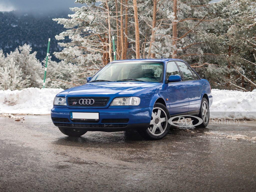 Audi S6 Plus z 1997 roku trafiło na aukcję za kwotę 60 tysięcy dolarów