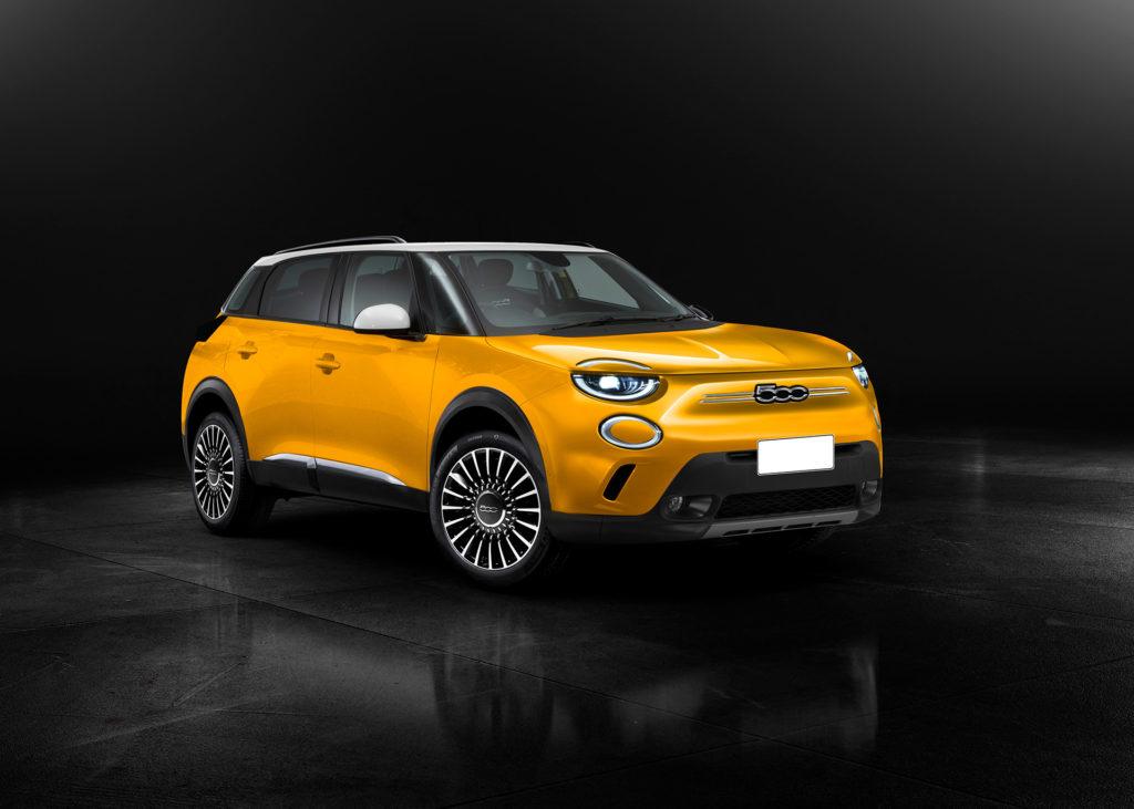 Oto jak może wyglądać nowy Fiat 500XL już w 2024 roku