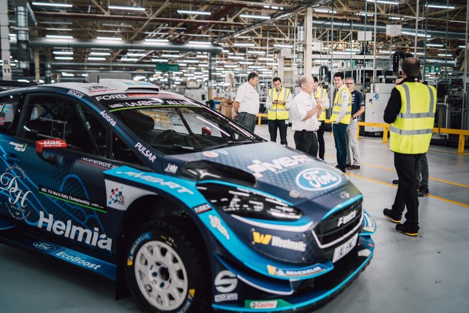 WRC: M-Sport jest zadowolony z postępu prac nad samochodem na 2022