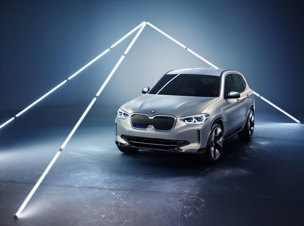 BMW iX3 – w pełni elektryczny Crossover BMW pojawi się tego lata