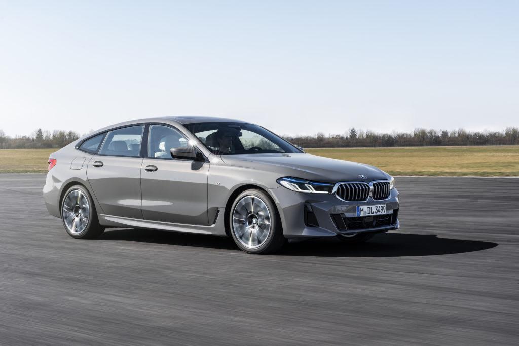 Nowe BMW serii 6 Gran Turismo z miękką hybrydą dla wszystkich silników
