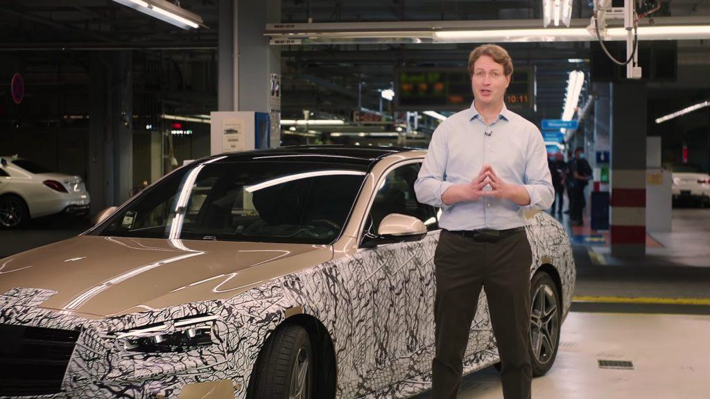 Mercedes oficjalnie prezentuje nową klasę S w kamuflażu