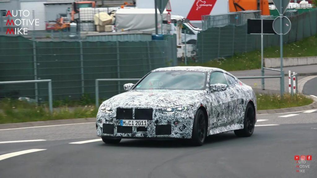 Testy nowego BMW M4 na północnej pętli nabierają tempa