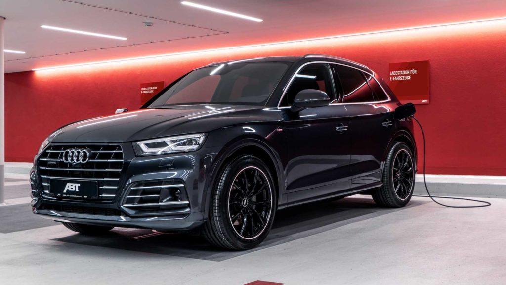 Audi Q5 55 TFSIe to pierwsza hybryda modyfikowana przez ABT