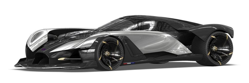 Koncept Bugatti La Finale hołdem dla epoki silników spalinowych