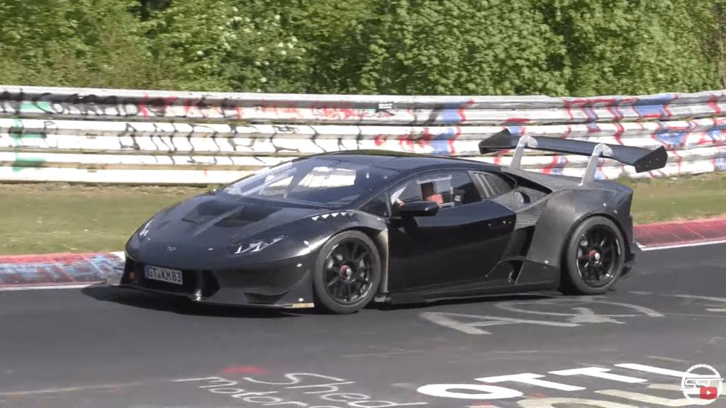 Lamborghini Huracan, któremu kierowca dał popalić – dosłownie