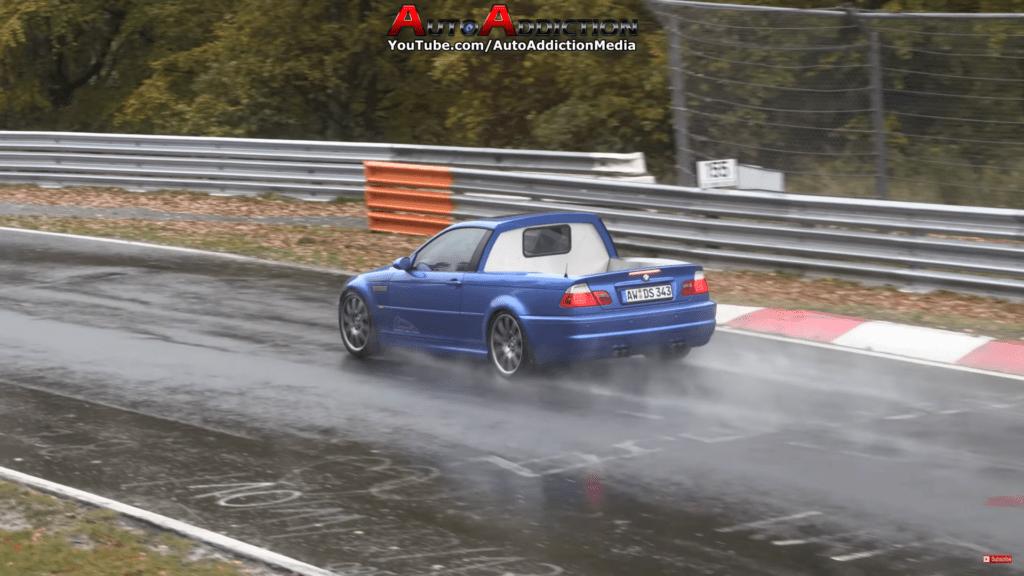 BMW E46 Pick-up grasuje swobodnie po Nürburgringu