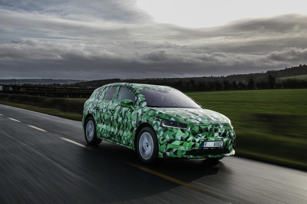 Skoda Enyaq iV ma stać się najmocniejszym samochodem marki