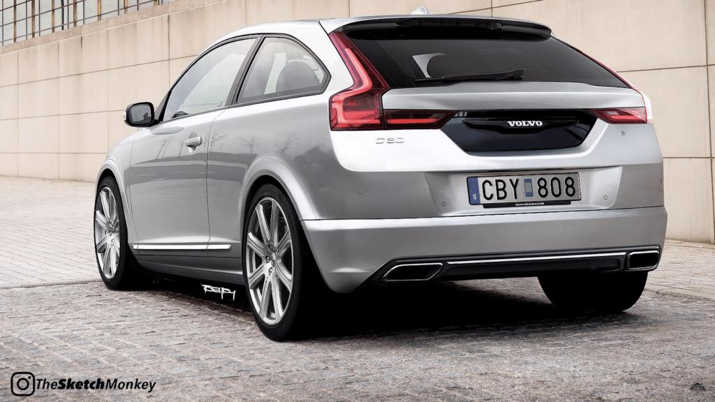 Co gdyby Volvo C30 wróciło w 2020 roku do produkcji z mocą 400 KM?