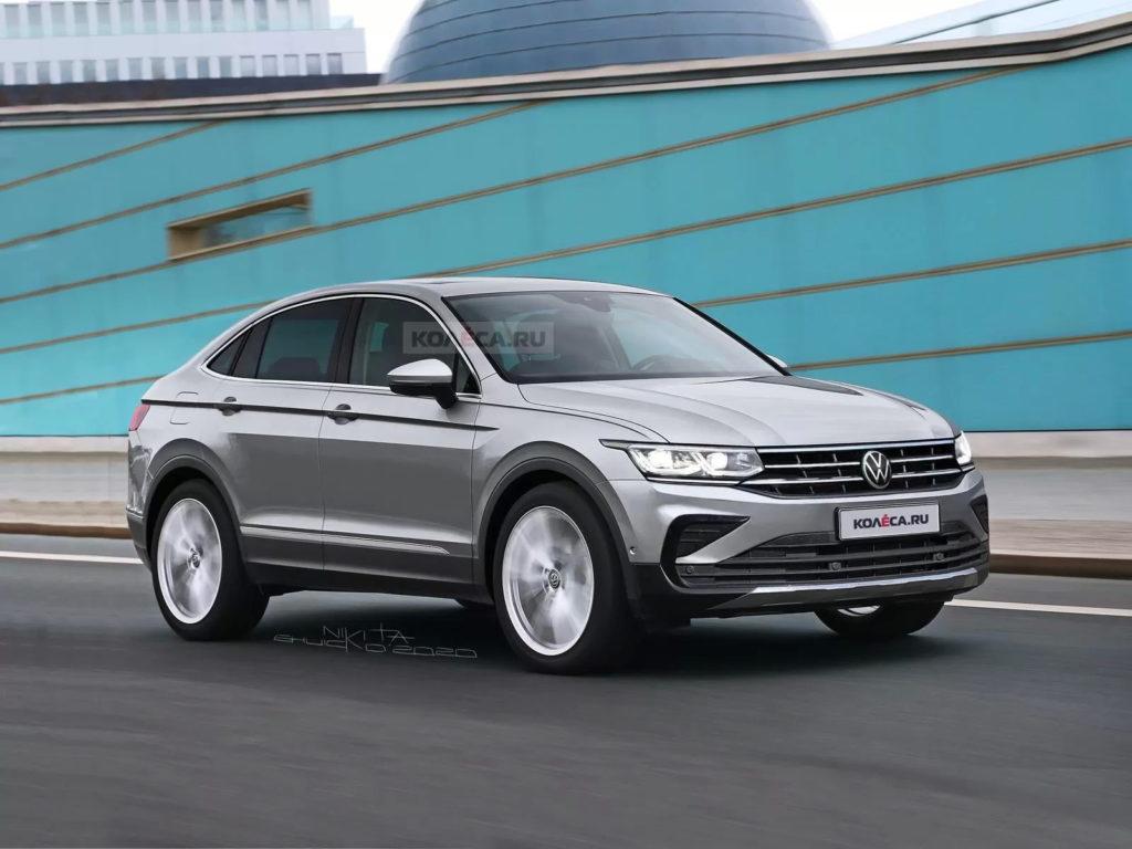 Volkswagen Tiguan Coupe – rywal dla Audi Q3 Sportback?