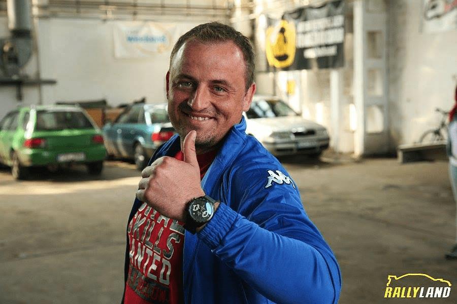 Łukasz Włoch – zawsze marzyłem o roli kierowcy. Z moich startów za kierownicą cieszyłby się tylko blacharz i chirurg – wywiad