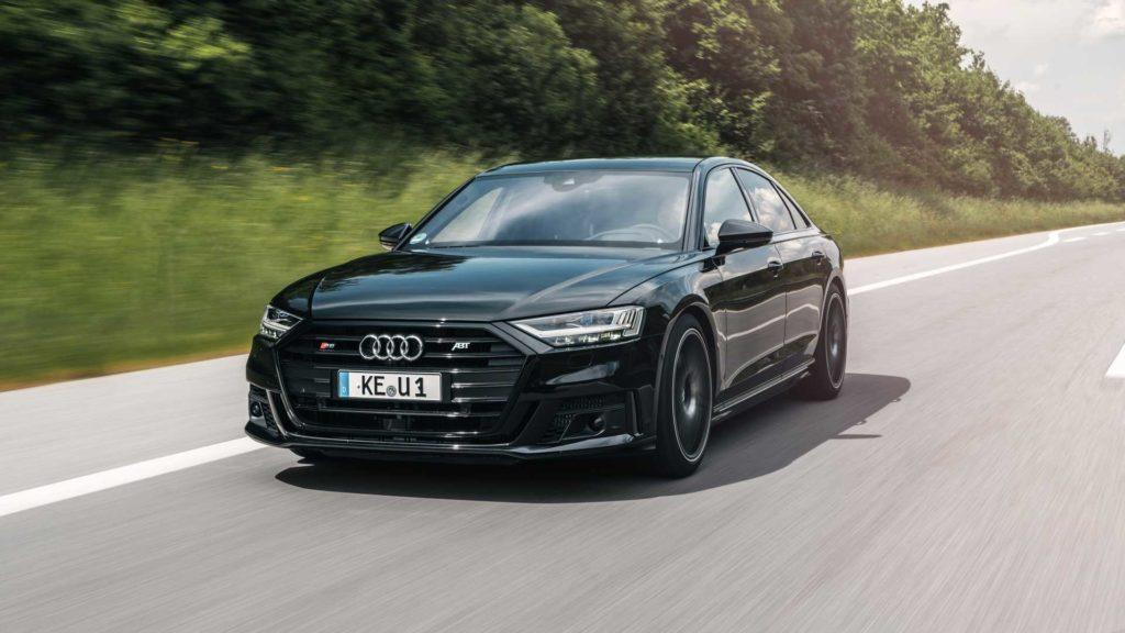 Audi S8 od ABT ma 700 KM i aż 880 Nm, a setka pojawia się 3,4 sekundy