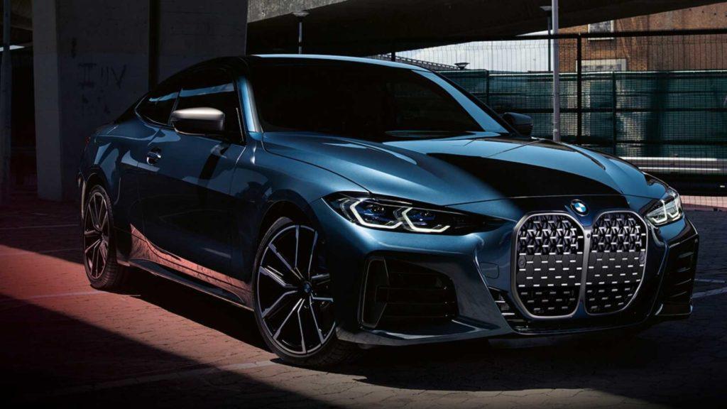 BMW serii 4 Coupe bez tablicy rejestracyjnej na oficjalnych zdjęciach