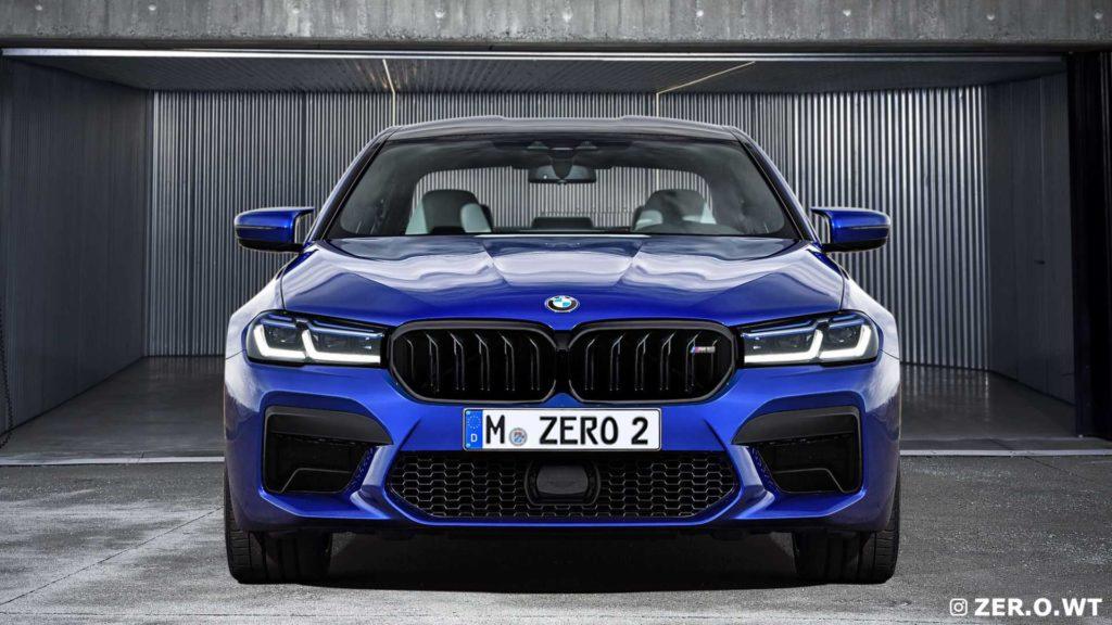 BMW M5 LCI – przykładowe grafiki odświeżonego sedana z Bawarii