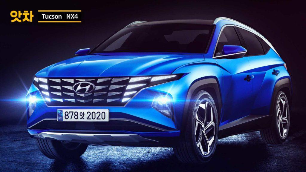 Hyundai Tucson 2021 – nadchodzi dużo zmian i nowości