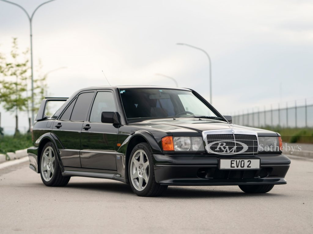 Mercedes-Benz 190 E 2.5-16 Evolution II sprzedany za ponad 900 000 zł