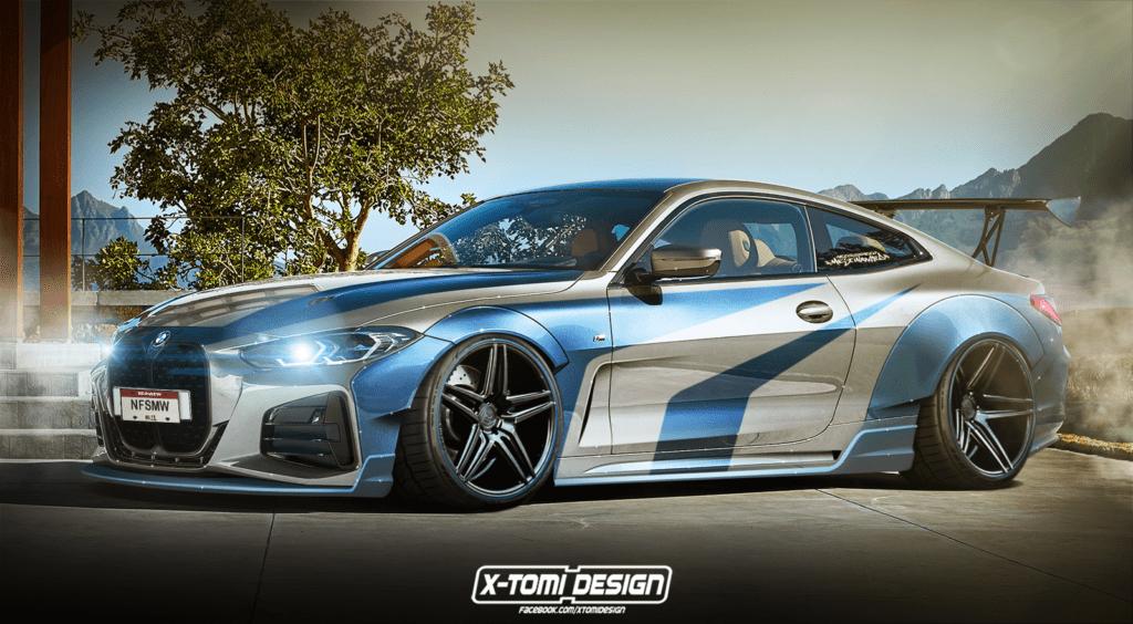 Nowa seria 4 na wzór kultowego BMW M3 GTR z NFS Most Wanted