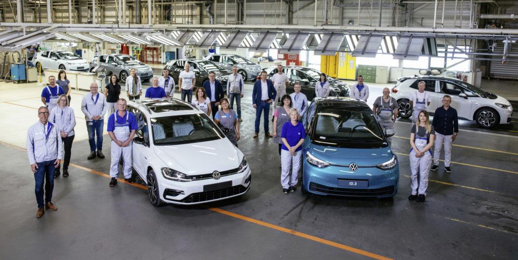 Golf R Estate MK7 jest ostatnim pojazdem spalinowym z fabryki w Zwickau