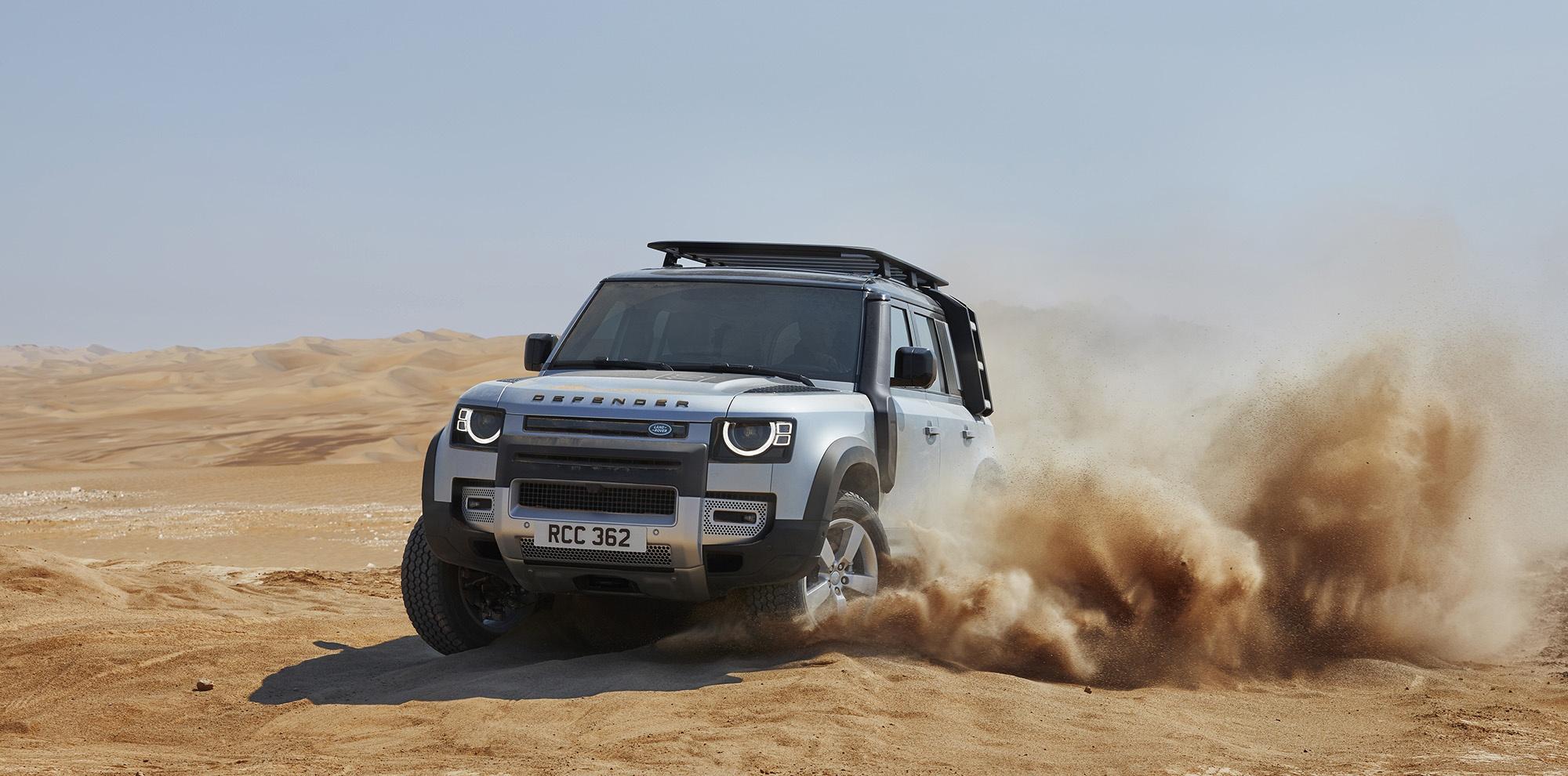 Land Rovera Defendera